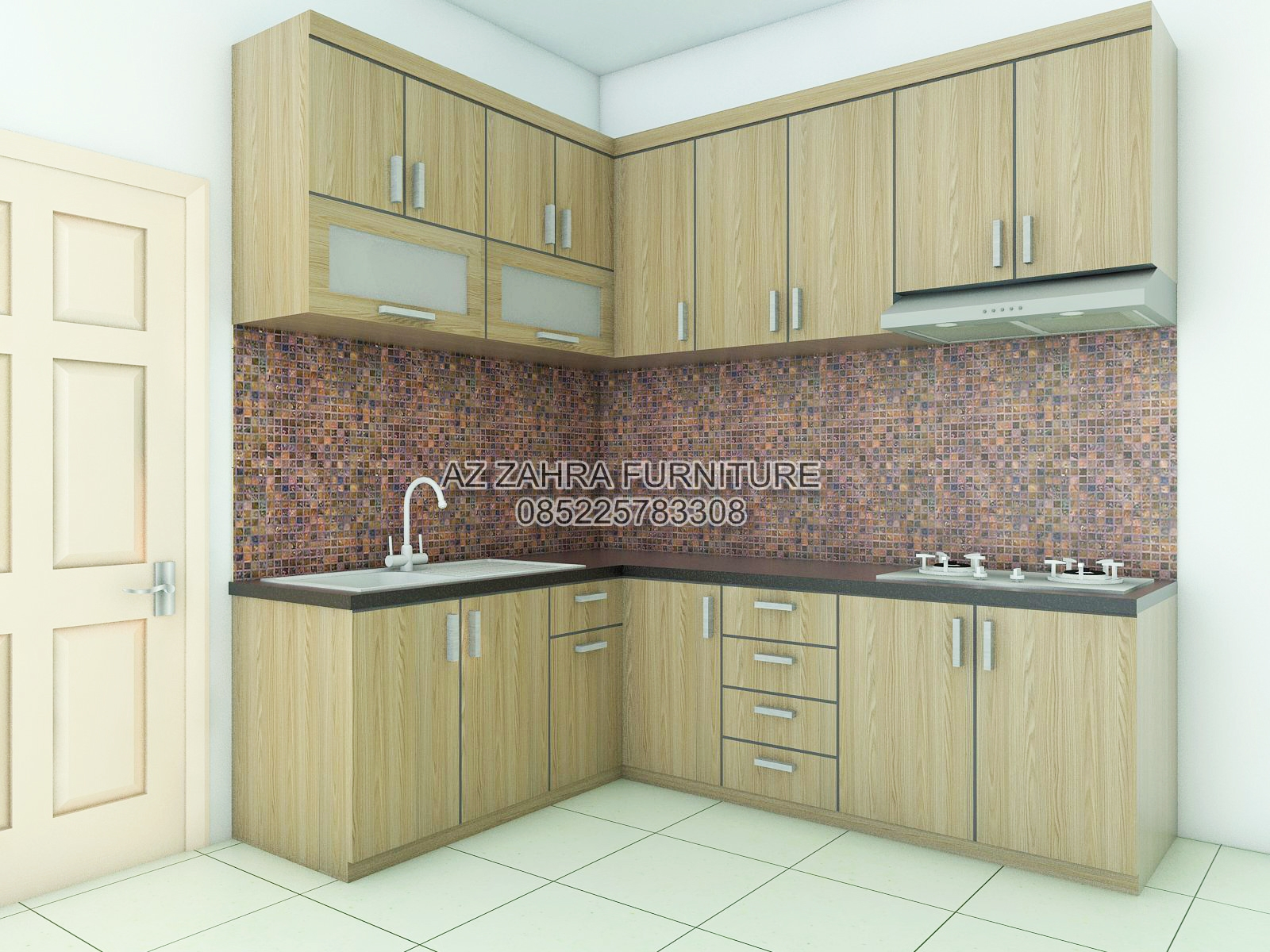 Jual lemari pakaian minimalis bergaransi model kitchen for Kitchen set jual