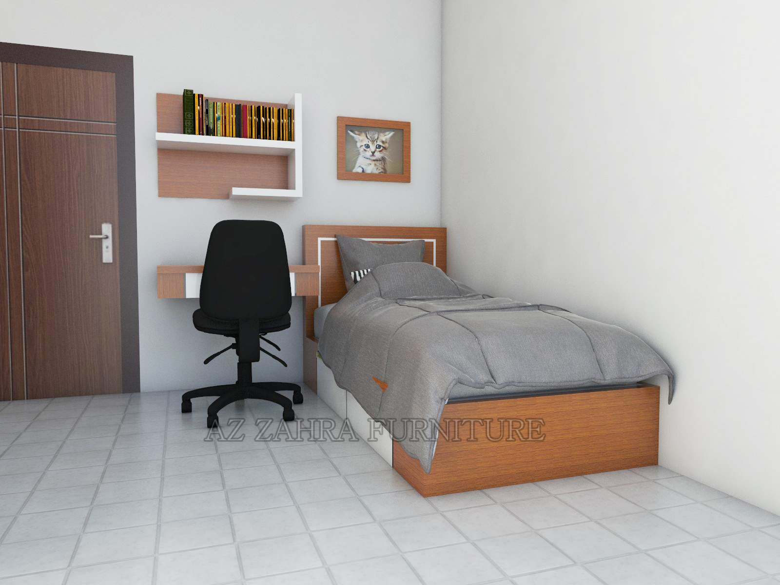 furniture kamar kost pekanbaru azzahra furniture