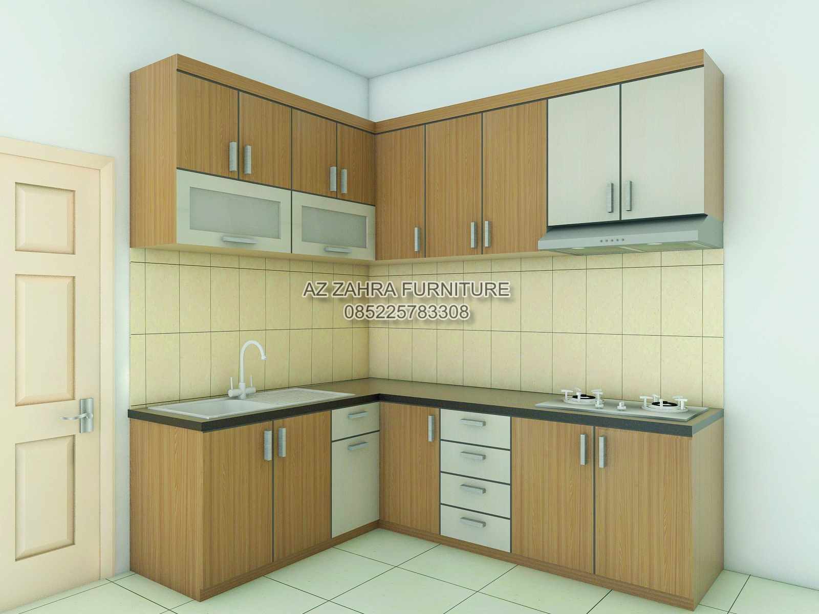 Kitchen Set Model From Teak Wood