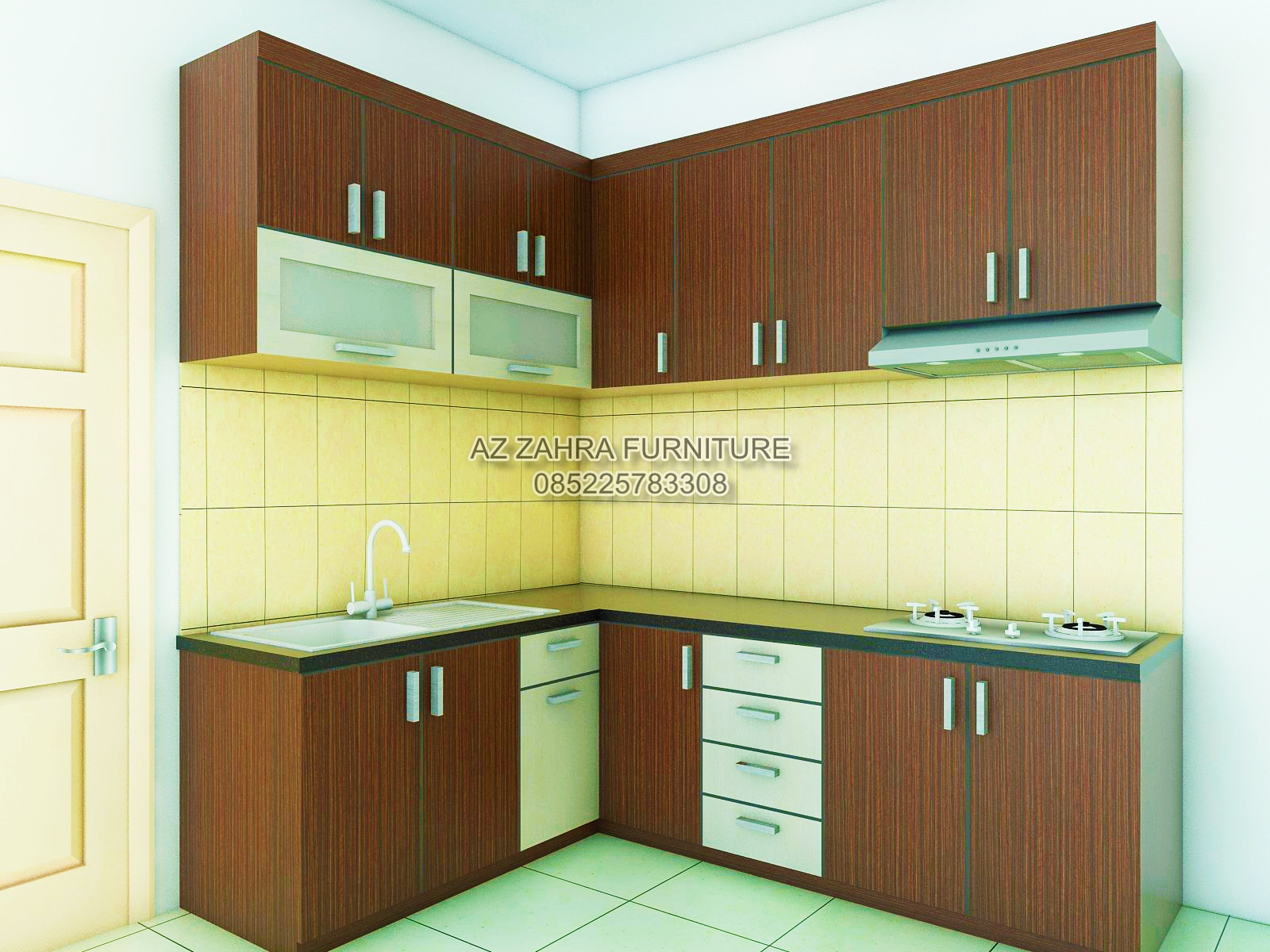 Kitchen set minimalis ungaran